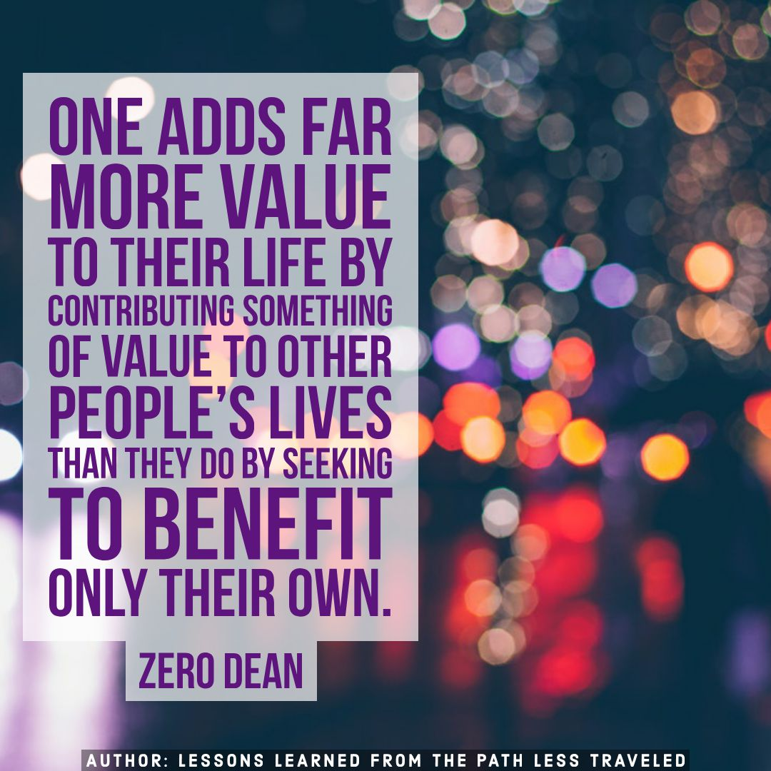 A person of value