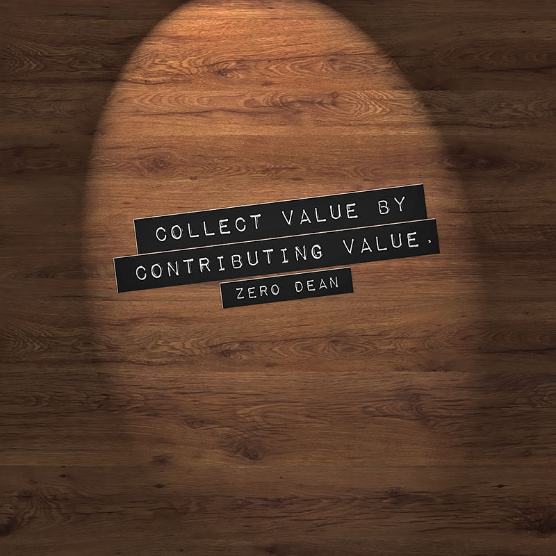 collect-value-by-contributing-value-zero-dean