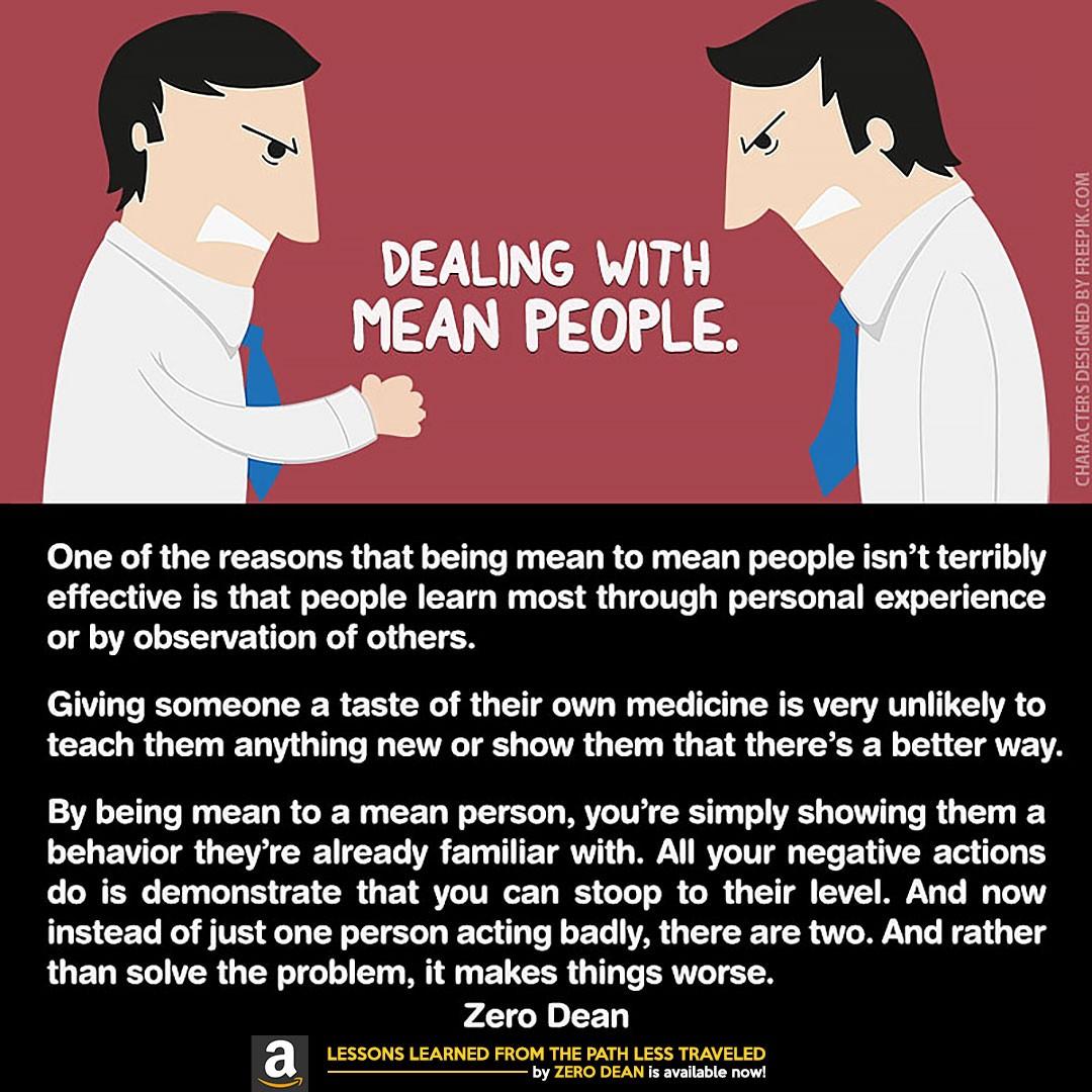 dealing-with-mean-people-zero-dean-zerosophy