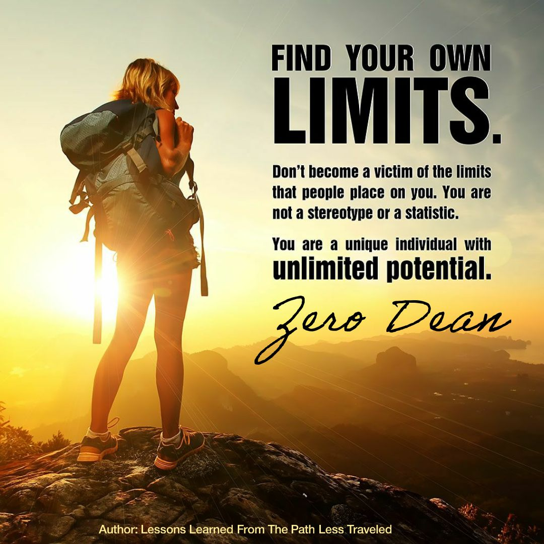 Find your own limits