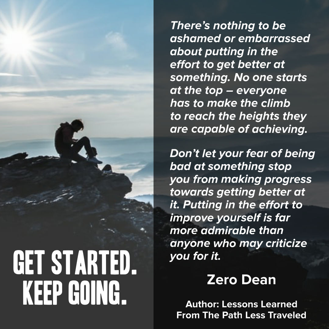 Get started. Keep going.