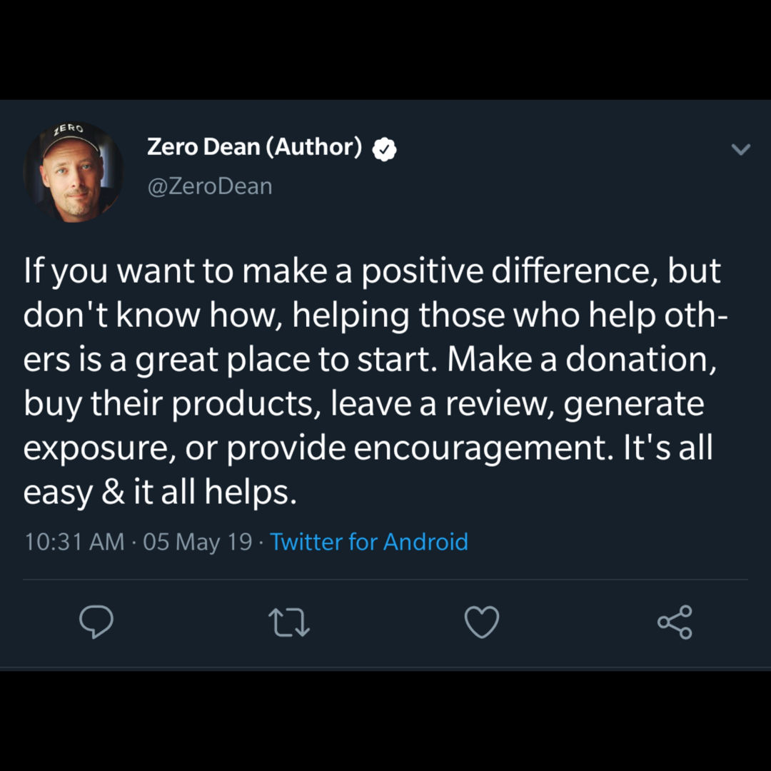 If you want to make a positive difference