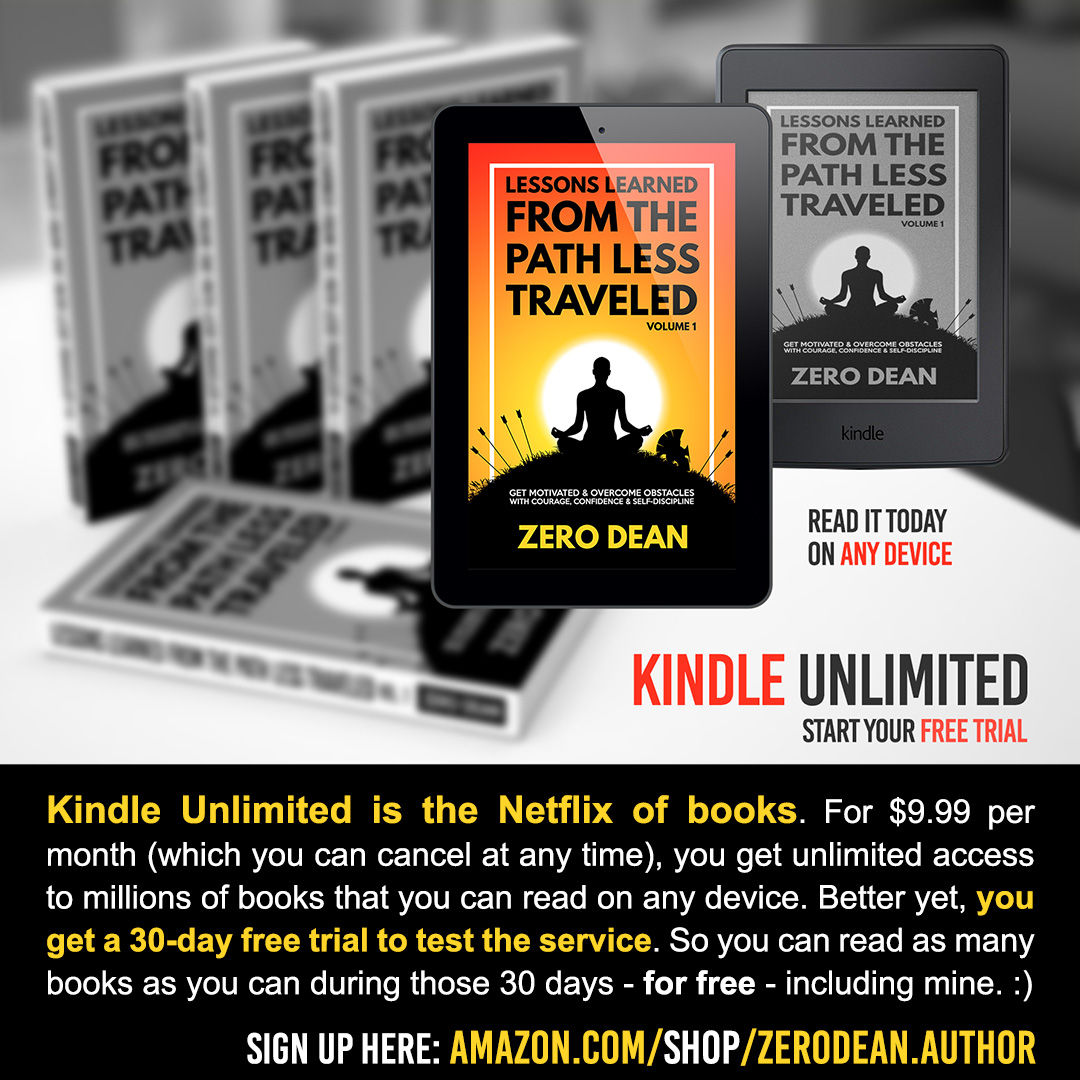 Kindle Unlimited (and my Amazon store)