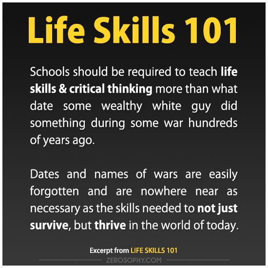 life-skills-101-zero-dean