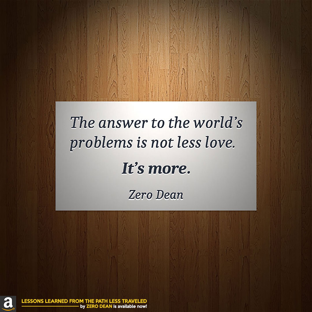 more-love-zero-dean