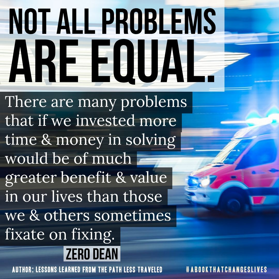 Not all problems are equal
