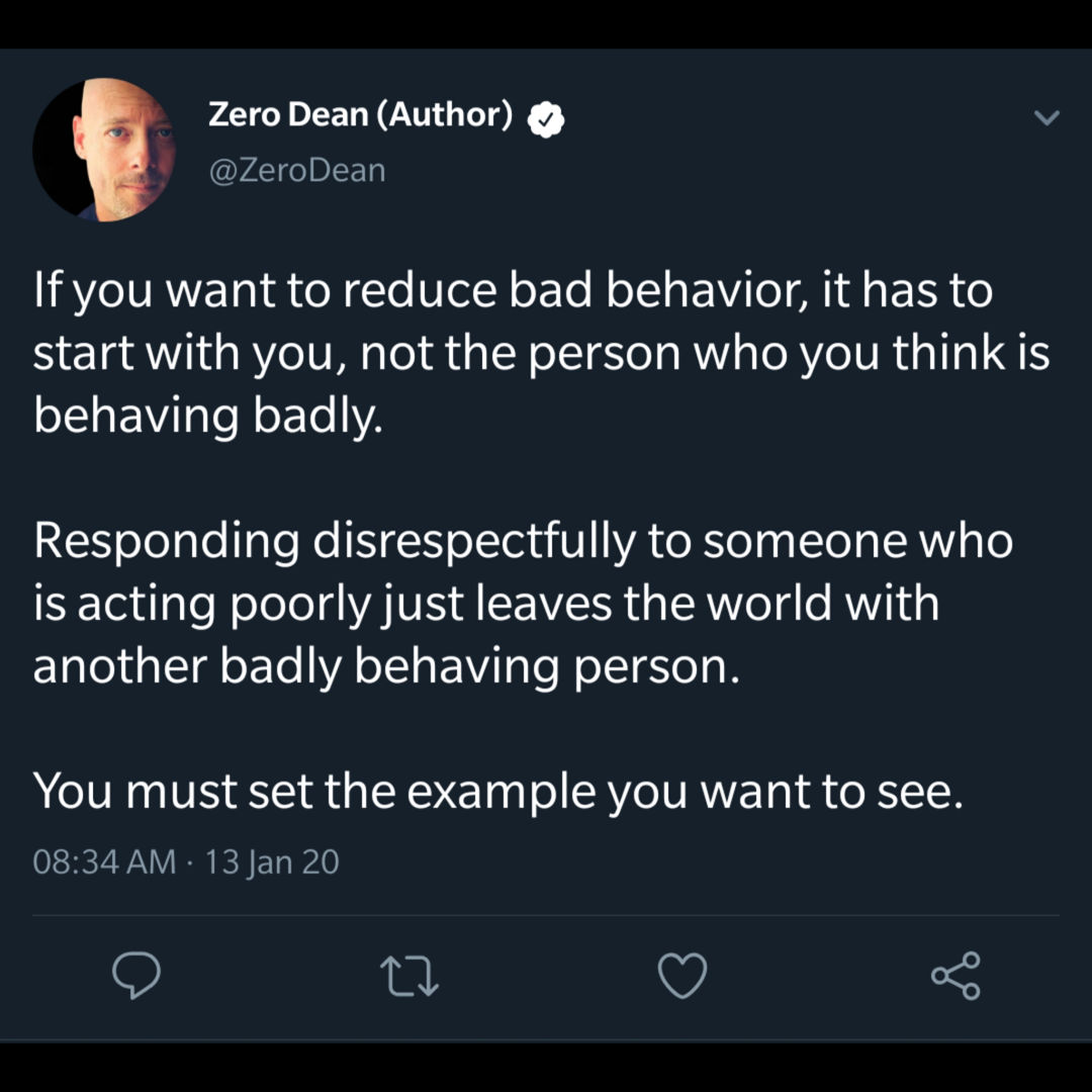 Reducing bad behavior