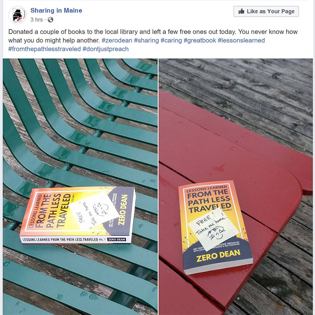 Sharing in Maine - An act of kindness