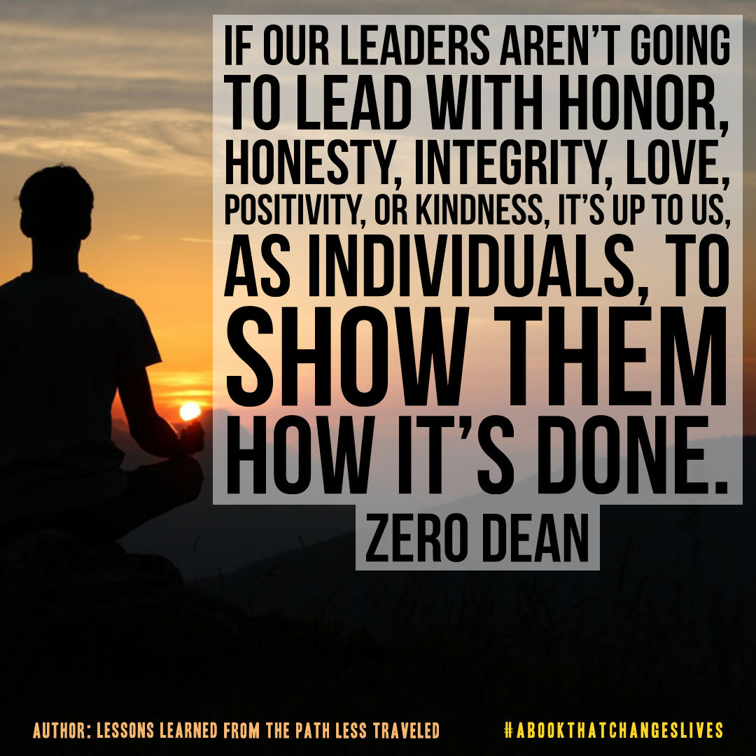 If our leaders aren't going to lead...