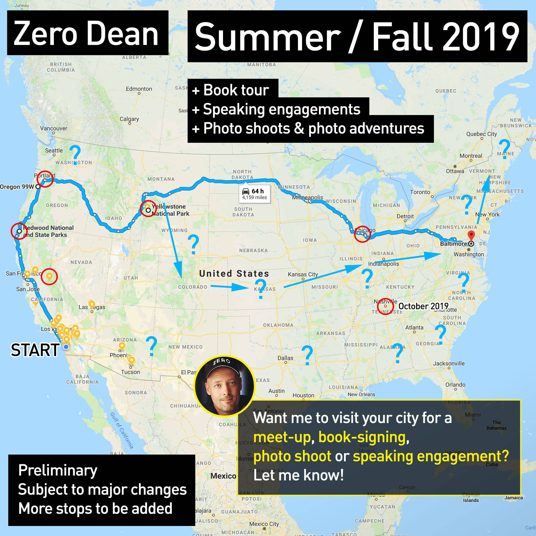 Summer & Fall travel plans