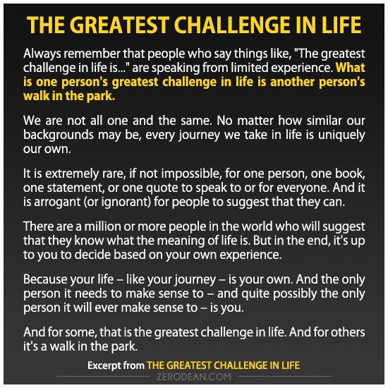 the-greatest-challenge-in-life-zero-dean