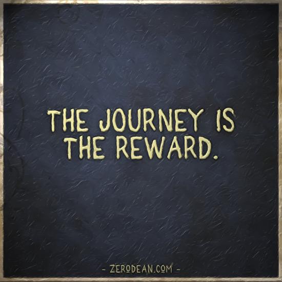 the-journey-is-the-reward-zero-dean