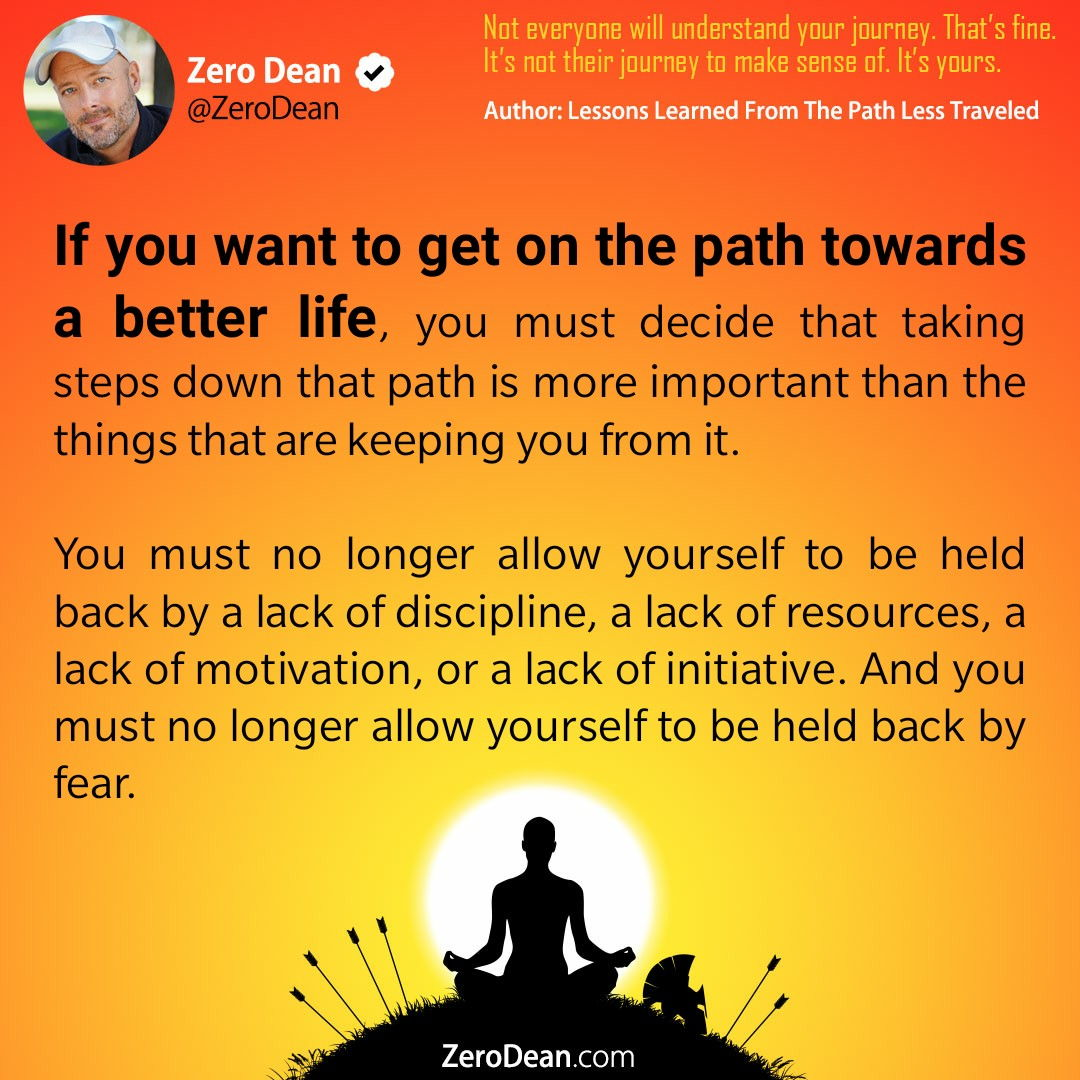 The path towards a better life
