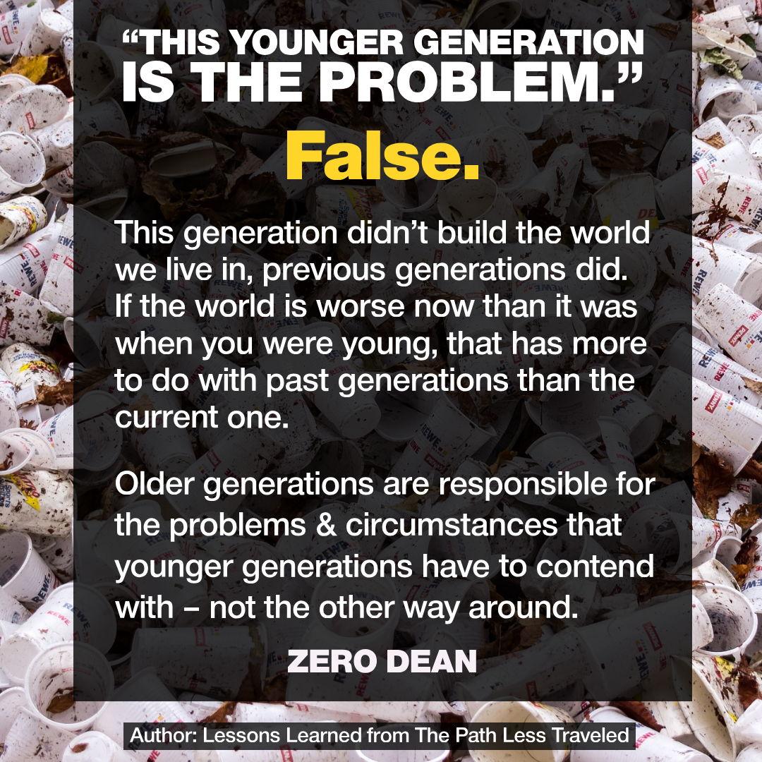 """The problem is Millennials"""