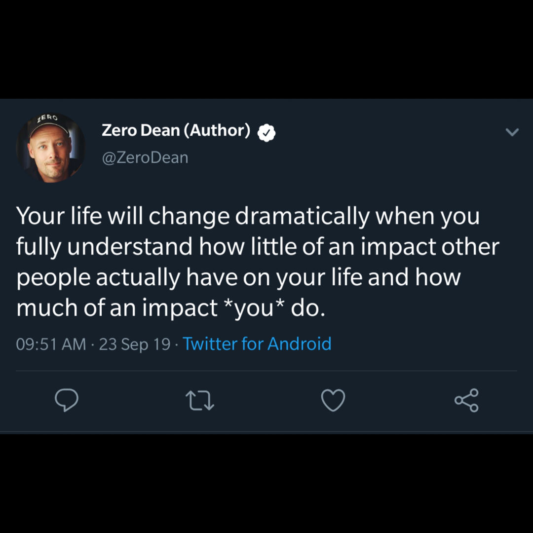 The true impact of others