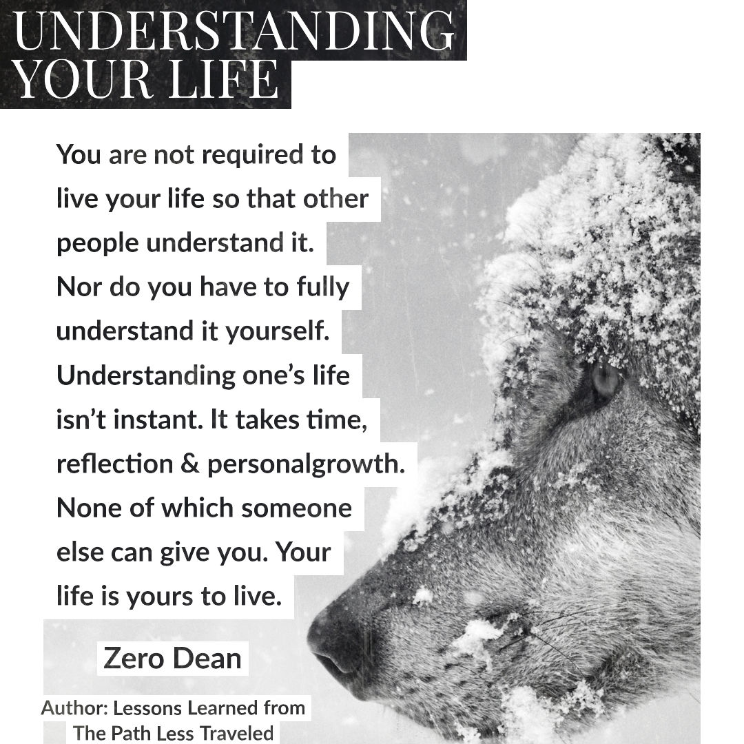Understanding your life