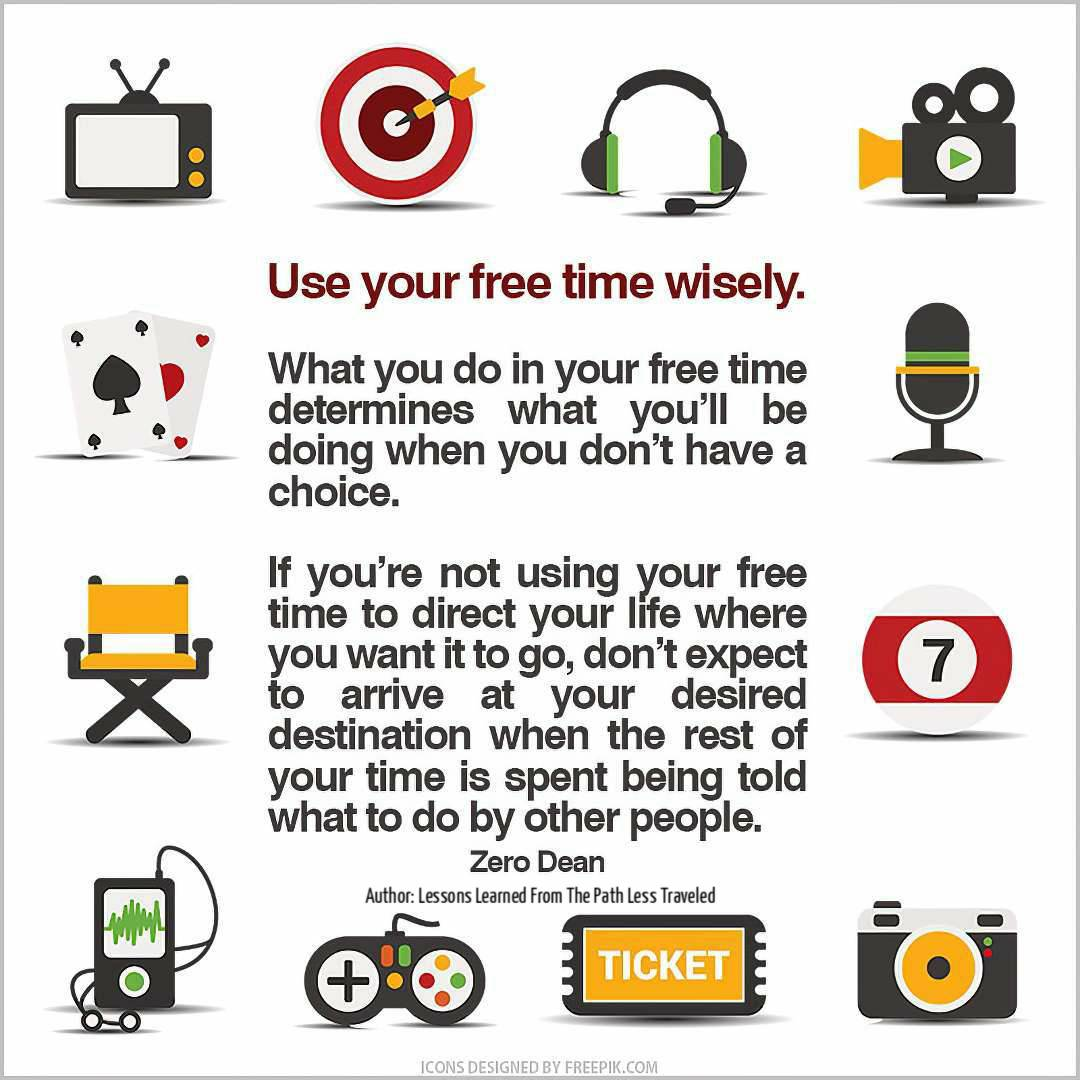 use-your-free-time-wisely-zero-dean-icons