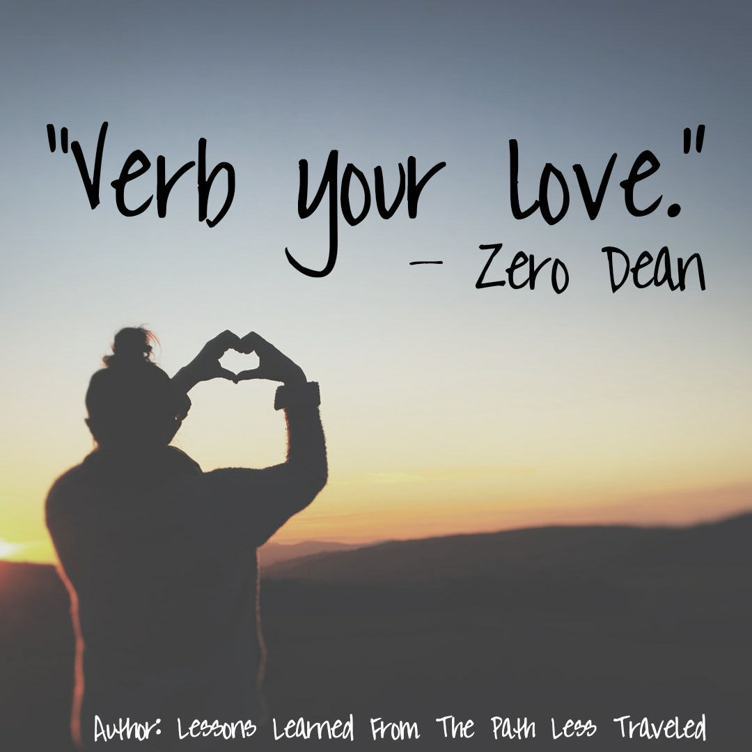 Verb your love