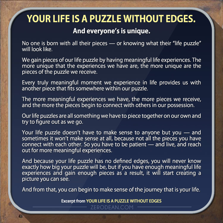 your-life-is-a-puzzle-without-edges-and-everyones-is-unique-zero-dean