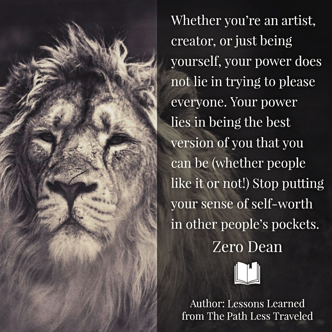 Your power is not in pleasing everyone
