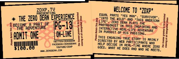 The Zero Dean Experience