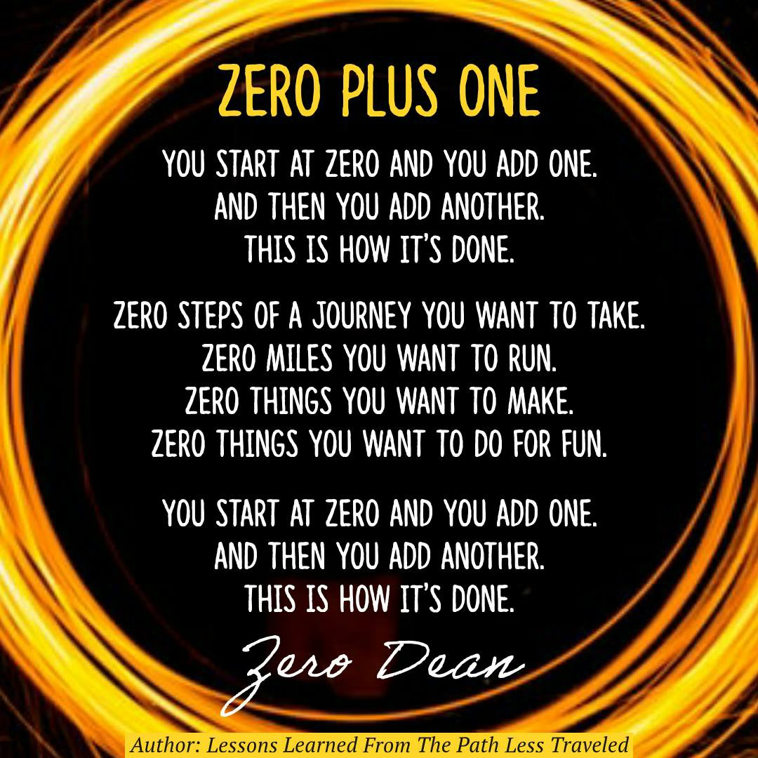 Zero plus one – this is how it's done
